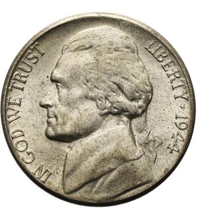 USA 5 centów 1944 S