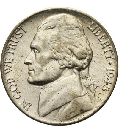 USA 5 centów 1943 P
