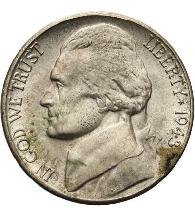 USA 5 centów 1943 S