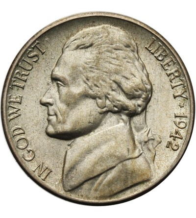 USA 5 Cents 1942 S