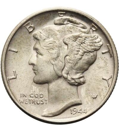 USA 10 Cents ( Mercury Dime ) 1944