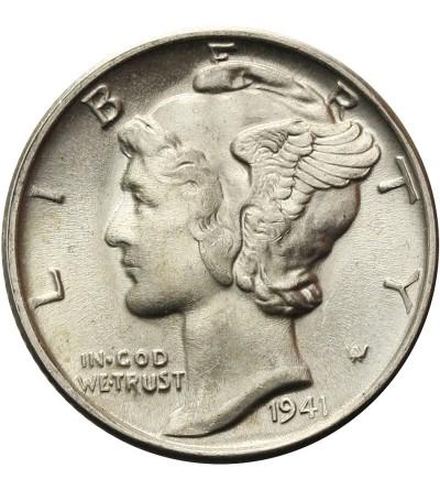 USA 10 centów ( Mercury Dime ) 1941