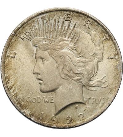 USA Peace Dolar 1922, Filadelfia