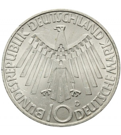 Germany 5 Mark 1968 J, Friedrich Wilhelm Raiffeisen
