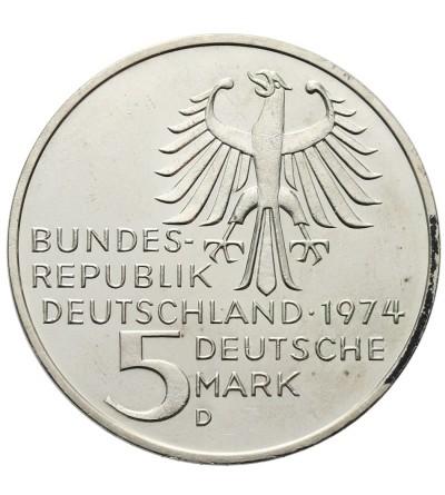 Germany 5 Mark 1974 D, Emanuel Kant