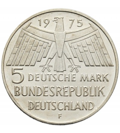 Germany 5 Mark 1975 F, European monument protection year