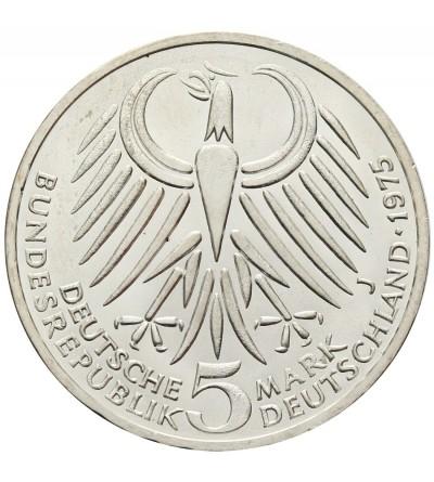 Germany 5 Mark 1975 J, Friedrich Albert