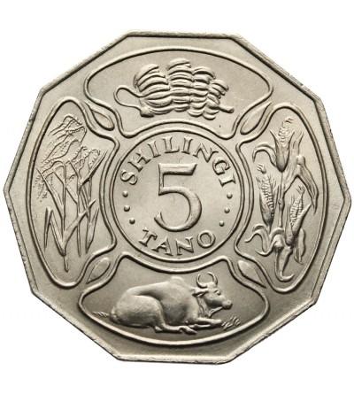 Tanzania 5 szylingów 1971