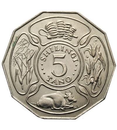 Tanzania 5 szylingów 1972