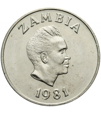 Zambia 20 Ngwee 1981