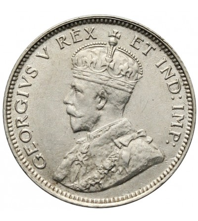 Afryka Wschodnia & Protektorat Ugandy 25 centów 1913