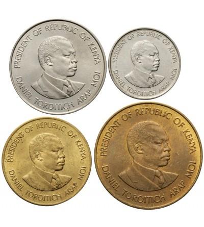 Kenya 5, 10, 50 Cents 1 Shilling 1980
