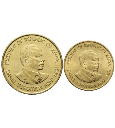Kenia 5, 10 centów 1990