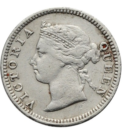 Mauritius 10 Cents 1897