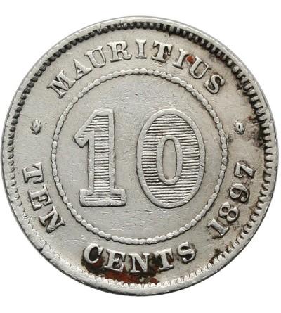 Mauritius 10 centów 1897