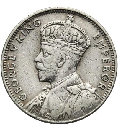 Mauritius 1/4 rupii 1934