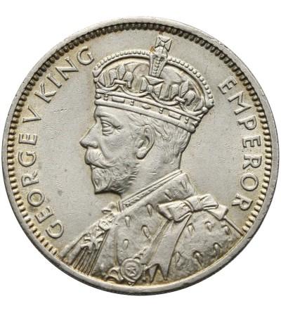 Mauritius 1/2 Rupee 1934