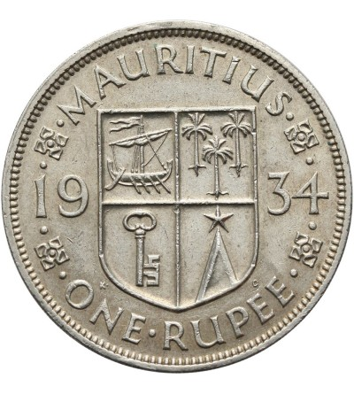 Mauritius 1 rupia 1934