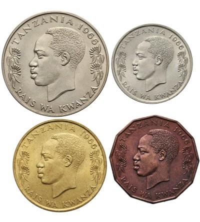 Tanzania 5, 20, 50 senti 1 szyling 1966