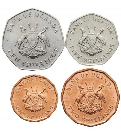 Uganda 1, 2, 5, 10 Shiillings 1987