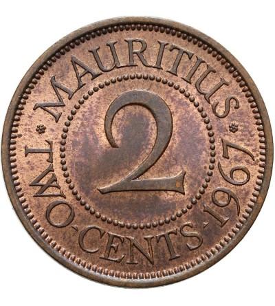 Mauritius 2 centy 1967
