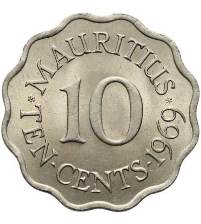 Mauritius 10 centów 1969