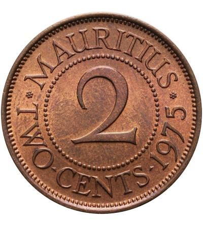 Mauritius 2 centy 1975
