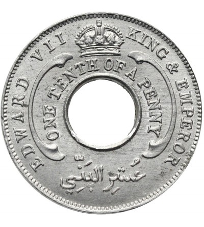British West Africa 1/10 Penny 1907