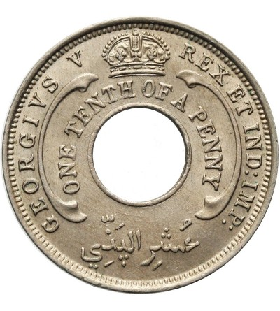 British West Africa 1/10 Penny 1927