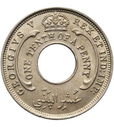 Brytyjska Afryka Zachodnia 1/10 pensa 1927