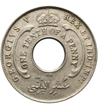 Brytyjska Afryka Zachodnia 1/10 pensa 1925 KN