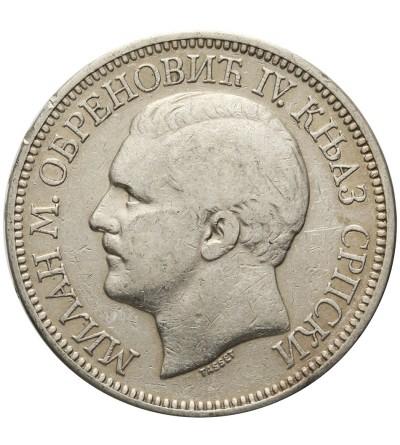 Serbia 1 dinar 1904