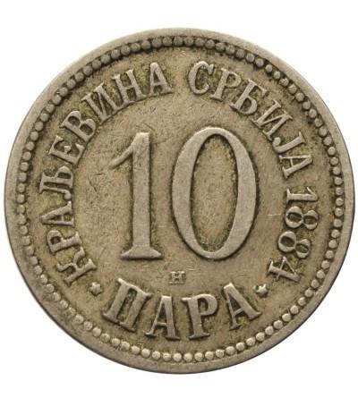 Serbia 20 para 1912