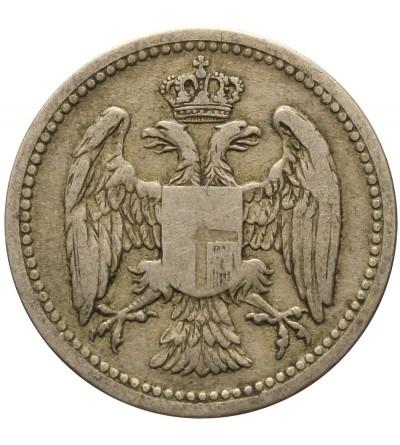 Serbia 10 dinarów 1882