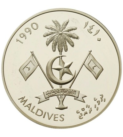 Malediwy 250 rufiyaa 1990 - Barcelona 1992