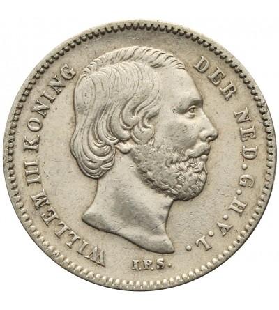Holandia 25 centów 1849