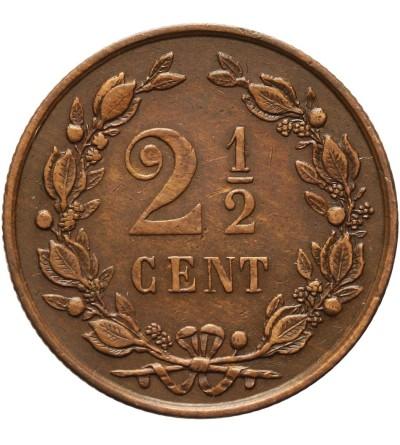 Holandia 2 1/2 centa 1886