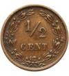 Netherlands 1/2 Cent 1878
