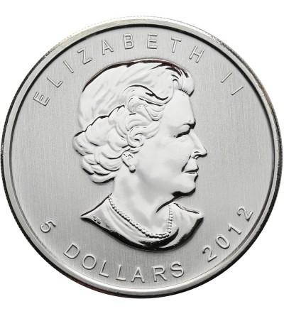 Kanada 5 dolarów 2012, łoś