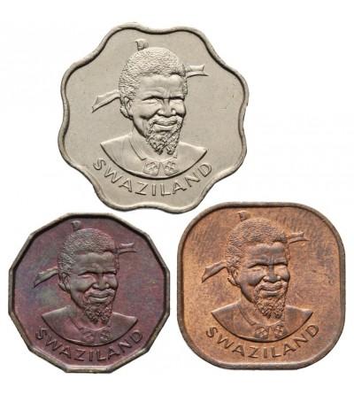 Suazi 1, 2, 5 centów 1975 F.A.O.