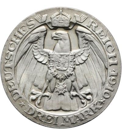 Prusy 3 marki 1910, Uniwersytet w Berlinie