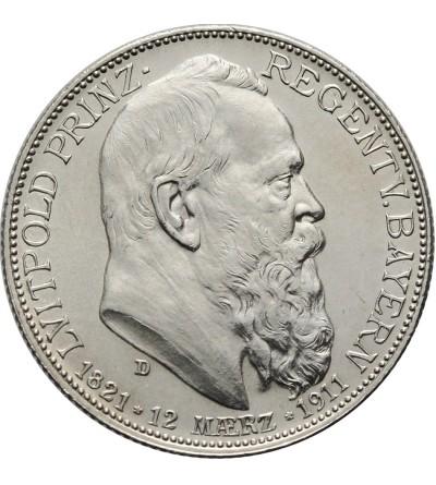 Bawaria 2 mark 1911
