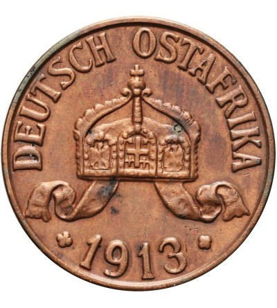 Niemiecka Afryka Wschodnia 1 heller 1913