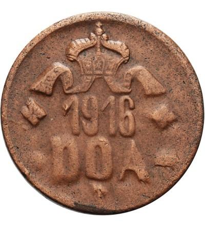 Niemiecka Afryka Wschodnia 20 heller 1916 T