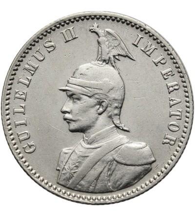 Niemiecka Afryka Wschodnia 1/2 rupii 1914 J