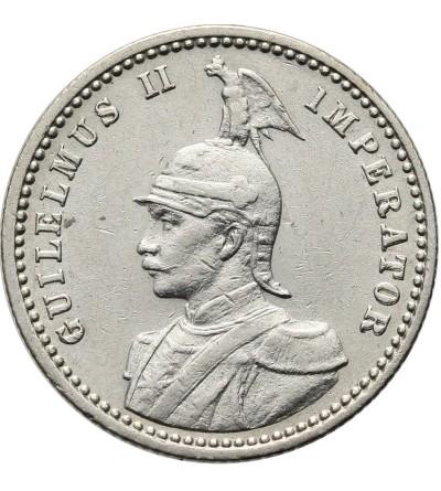 Niemiecka Afryka Wschodnia 1/4 rupii 1907 J