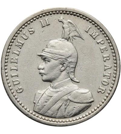 German East Africa 1/4 Rupie 1909 A