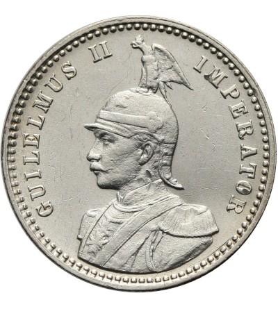 German East Africa 1/4 Rupie 1914 J