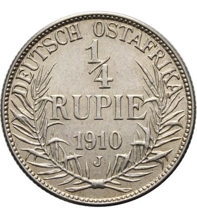 Niemiecka Afryka Wschodnia 1/4 rupii 1910