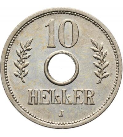 Niemiecka Afryka Wschodnia 10 heller 1914